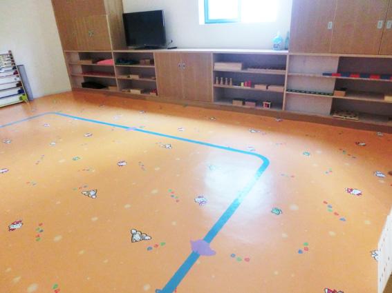 亲子中心专用PVC地胶 环保儿童PVC塑胶地板